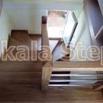 """""""Σπάτα"""" εναέρια σκάλα-ξύλινη τυπου Π"""
