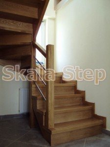 εναέρια σκάλα-ξύλινη τυπου Π